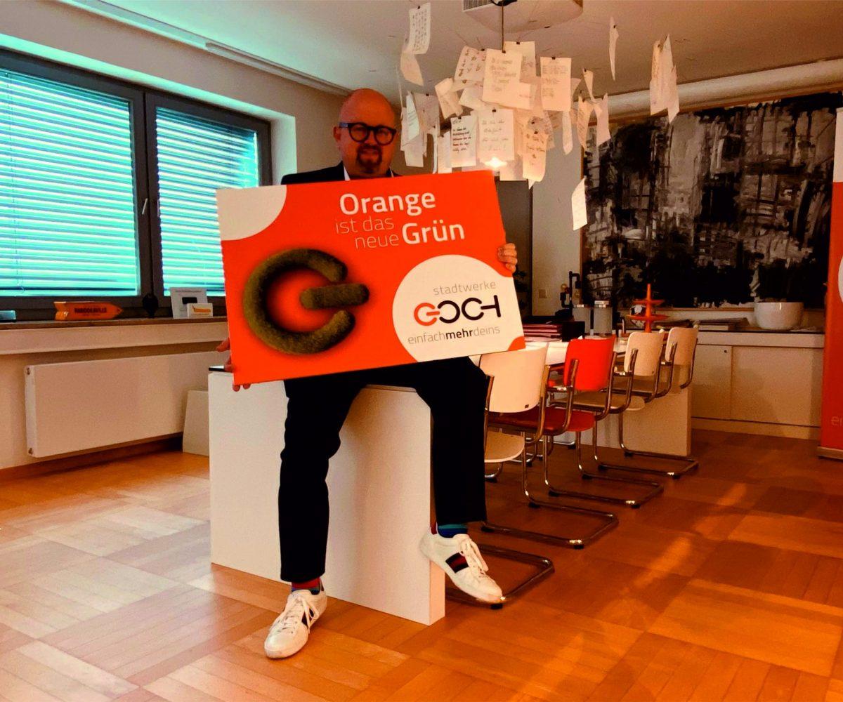 Carlo Marks, Geschäftsführer der Stadtwerke Goch GmbH