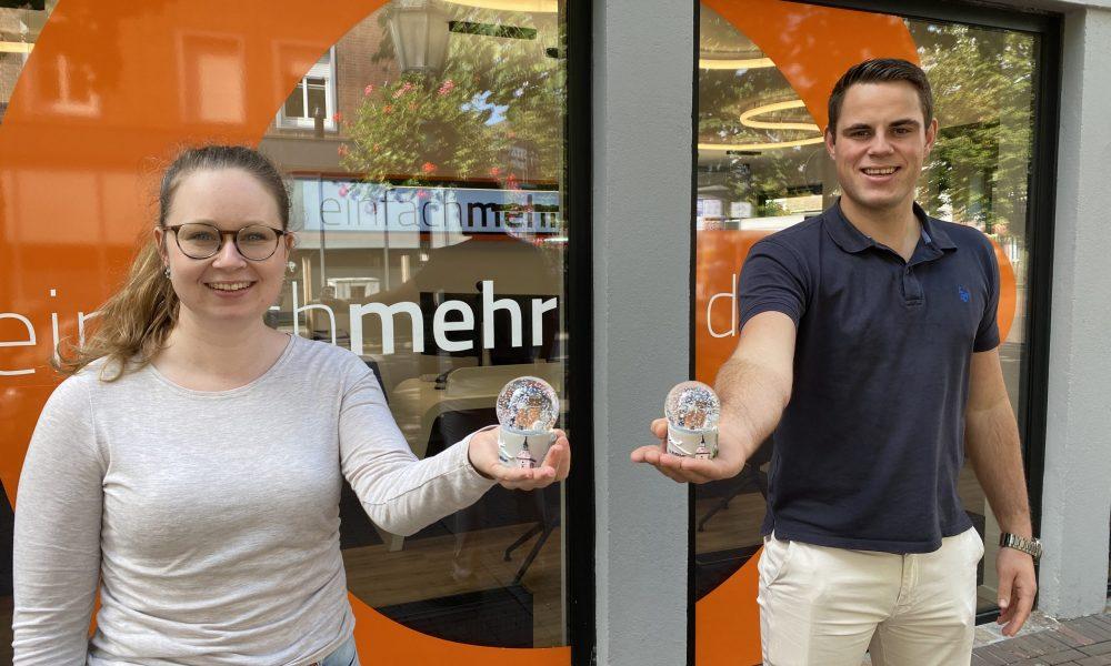 Kimberly Fylla und Benedikt Schmitz, Stadtwerke Goch GmbH