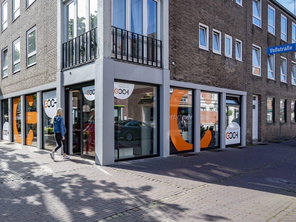 Stadtwerke Goch Service-Center am Markt – Foto: Thomas Momsen